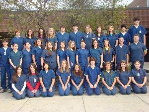 Allied Health II Students