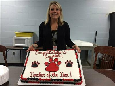 Crystal Giles, PHS TEACHER OF THE YEAR