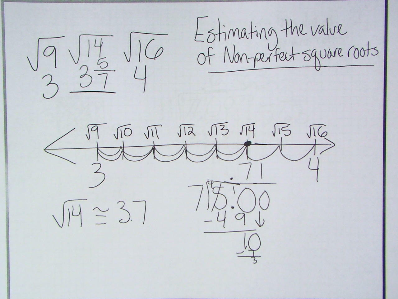 Worksheet Estimating Square Roots Worksheet Recetasnaturista